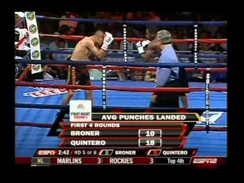 Adrien Broner vs Fernando Quintero (Robbery)