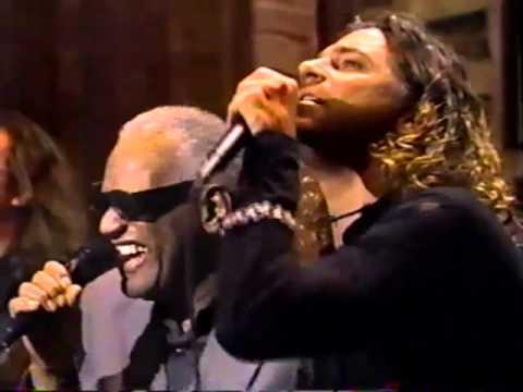 Inxs - michael hutchence INXS ray charles on Letterman