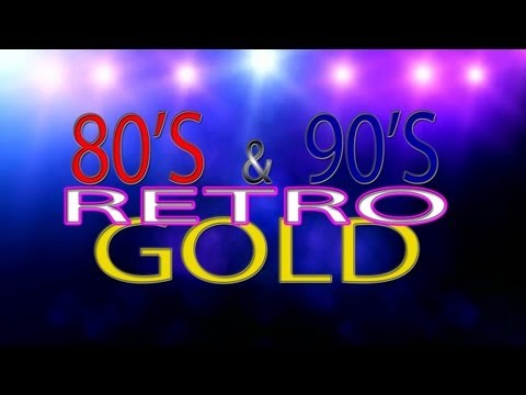 80's & 90's Retro Gold Facebook Promo.