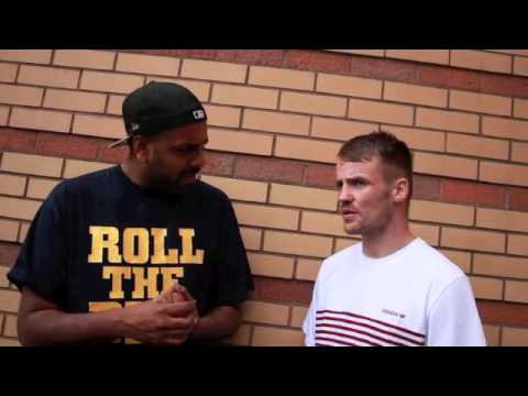 FRANKIE GAVIN POST-WEIGH IN INTERVIEW FOR IFL TV - WITH KUGAN CASSIUS / GAVIN v BUNDU