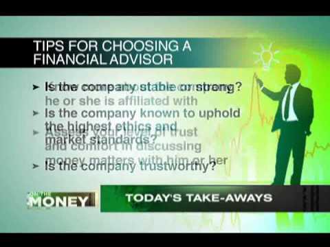 ANC On The Money: Why I Need A Financial Advisor