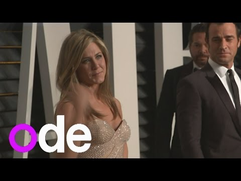 Vanity Fair Oscar party: Jennifer Aniston and Justin Theroux look loved up on red carpet
