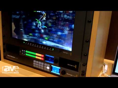 InfoComm 2015: Blackmagic Design Shows Teranex Express With 1089 Real Time Conversions