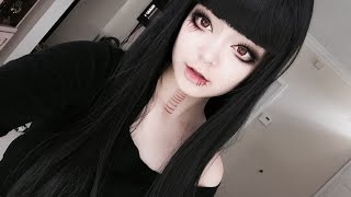 Gothic Dolly Lolita Anime Girl Makeup Tutuorial - [Inspired by Suzuya Juuzo from Tokyo ghoul:re]