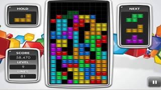 I was bored so I played tetris