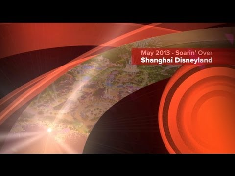 Soarin' Over Shanghai Disneyland - May 2013