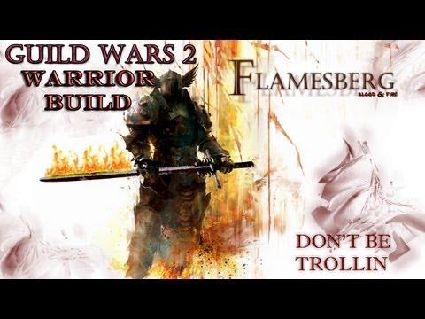 Guild Wars  Warrior Build Pve Greatsword