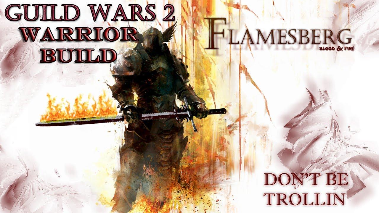 Guild Wars  Warrior Builds Greatsword