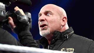 عندما يغضب المصارع جولد بيرج - Goldberg Attacks Brock Lesnar,Randy Orton And more