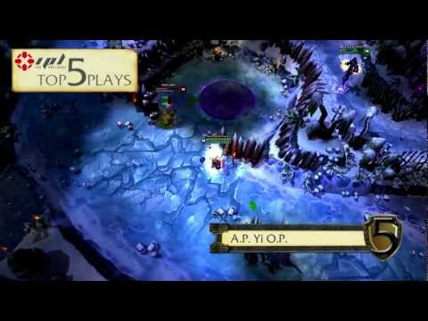 Top 5 Plays - Episode 1 - IPL League Of Legends