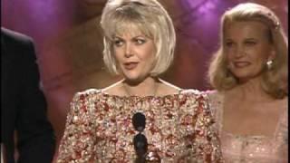 Ann Jillian Wins Best Actress TV Movie - Golden Globes 1989