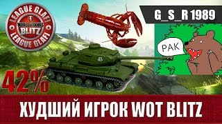 WoT Blitz Худший игрок - World of Tanks Blitz
