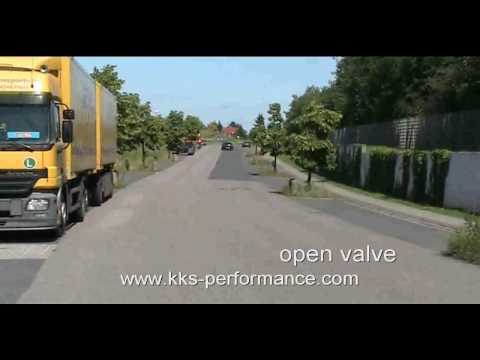 Chrysler 300C SRT8 exhaust sound Klappenauspuff KKS-Performance