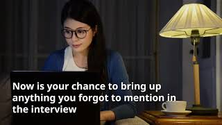 How To Write An Interivew Thank You Note