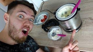 EISMASCHINE im TEST! - Smartie Eis selber herstellen