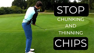 HOW TO HIT CHIP SHOTS AROUND THE GREEN - EASY TECHNIQUE