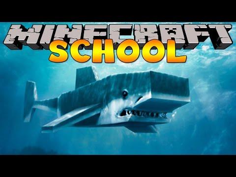 Minecraft School : SHARK FISHING FIELD TRIP !