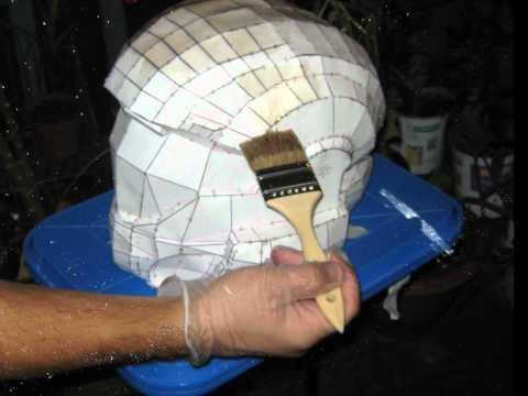 Halo ODST Helmet Fiberglassing