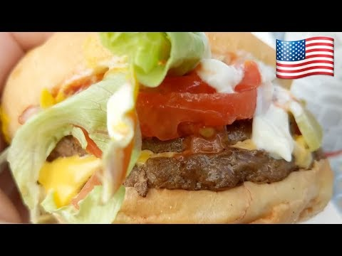 Ужасная еда в США фастфуд Jack in the Box :-)