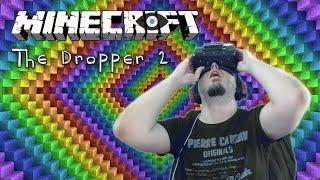 Minecraft: The Dropper 2 - A 'BARF' IDEA! (Oculus Rift Gameplay)