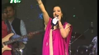 UK Bengali Singer Laboni performing in London Boishakhi Mela 2015