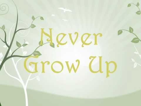Taylor Swift-Never Grow Up Lyrics[on screen]