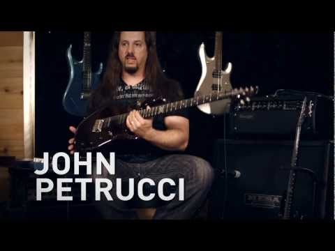 John Petrucci At: Guitar Center Ernie Ball/Music Man JP12