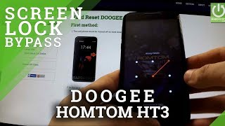 Hard Reset DOOGEE Homtom HT3 - Reset and Bypass Screen Lock