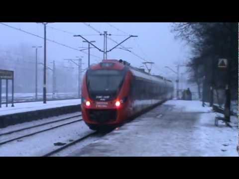 Pociągi SKM Warszawa na stacji Grodzisk Mazowiecki + składy złapane przy okazji + RP1