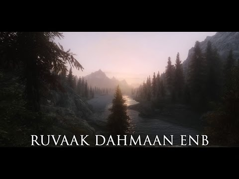 TES V - Skyrim Mods: Ruvaak Dahmaan ENB Redone