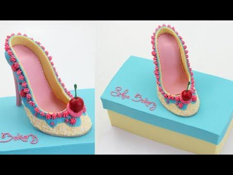 How To Make A Shoe Bakery Cake thumbnail