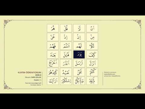 Kuran Öğreniyorum 8 - Cezm (Fatih Çollak)