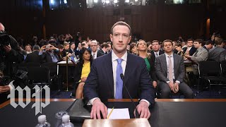 Mark Zuckerberg testifies on Capitol Hill full Senate hearing