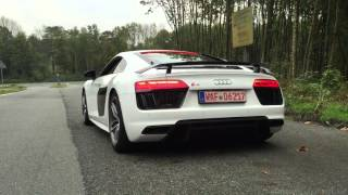 Brandnew Audi R8 V10 Plus - Launch Control!