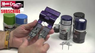 How to use Testors Enamel Paints