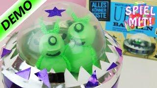 Kosmos Ufos Basteln  - Wolkenschleim Silk Clay Form Clay - Aliens fliegen im Ufo