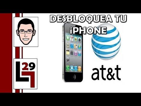 Como desbloquear tu iPhone 3GS. 4. 4s y 5 de AT&T. GRATIS