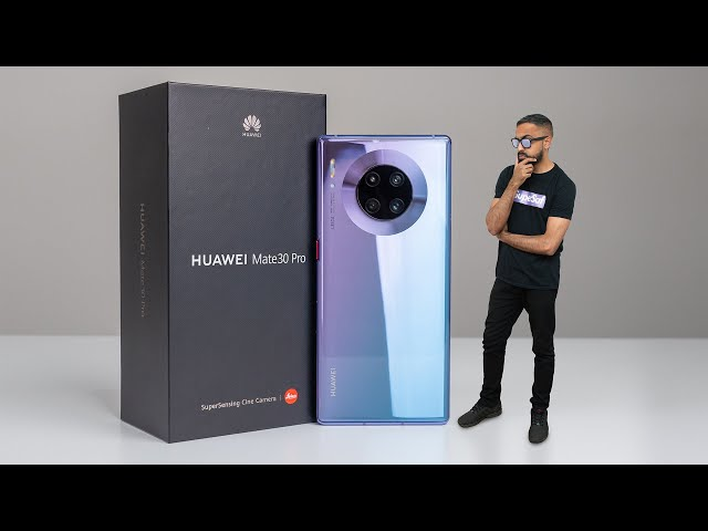 Huawei Mate 30 Pro UNBOXING - The Best Phone You CAN39T Buy!