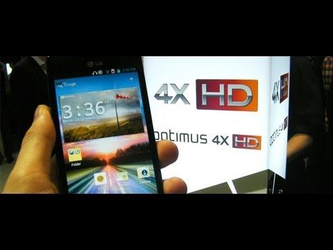 Review Celular Smartphone LG Optimus 4X HD em português - Brasil