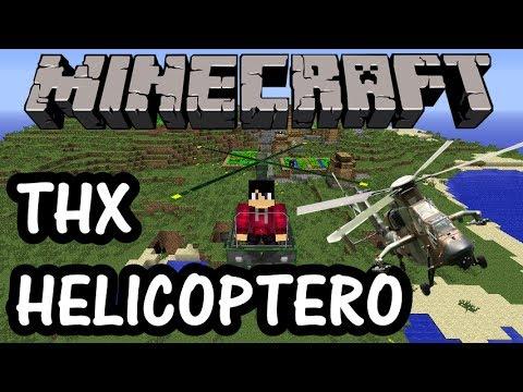 Minecraft Mods: Como descargar e instalar THX Helicoptero para Minecraft 1.5.2