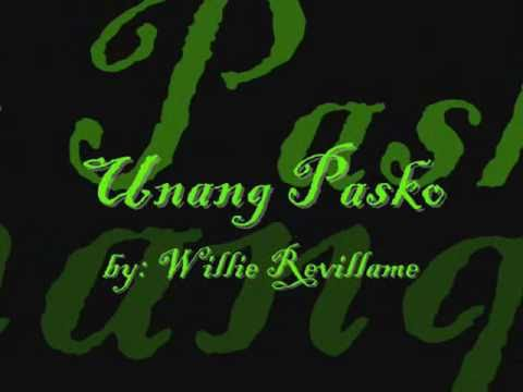 Unang Pasko by Willie
