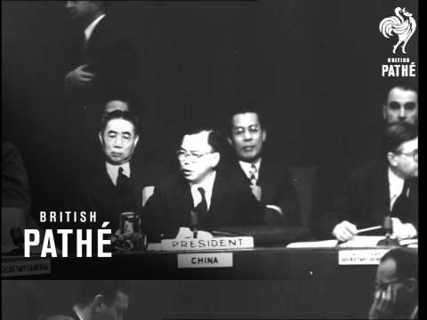 UN Meets On Palestine (1948)