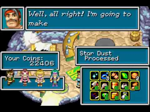 Golden Sun  Debug Room