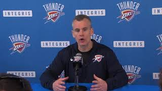 Thunder exit interview: Billy Donovan