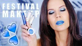 FESTIVAL GLAM   Makeup Tutorial