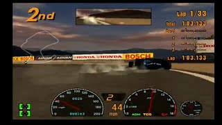 Gran Turismo 3 Playthrough Part 101! Race of Laguna Seca in F1 GT Championship! Great AI action!