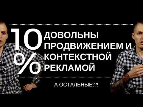 Продвижением сайта и контекстной рекламой недовольны 90%. Почему SEO, Яндекс Директ и Adwords плохи