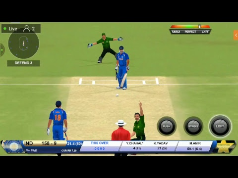 Real Cricket 2018| India vs Pakistan| Asia cup 2018 live