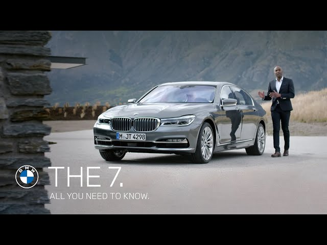 The all-new BMW 7 Series. All you need to know. - YouTube