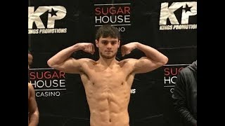 King's Promotions Weigh in, November 8, 2018 Carto vs Rodriguez)
